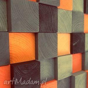 Mozaika Drewniana NA ZAMÓWIENIE, halloween, obraz, drewniana, dekoracja, ścianę