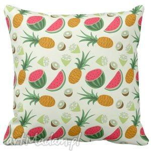 artmini poduszka dekoracyjna owoce arbuz tropic 6522, arbuz, kawiaty
