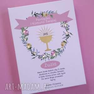 Prezent Świecąca Pamiątka Komunii Świętej obraz prezent kumonijny dla dziewczynki