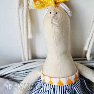 handmade maskotki pani królik