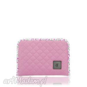 kosmetyczki kosmetyczka simple color 192 różowy, etui, saszetka