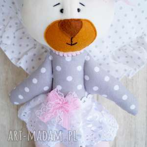 miś maskotka przytulanka - łóżeczko, zabawka