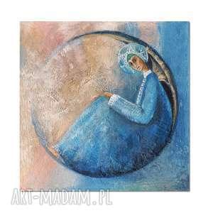 Anioł Ivan, obraz ręcznie malowany, anioł, obraz, ręcznie, malowany