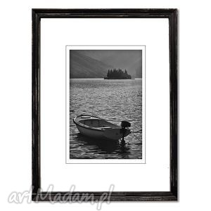Wyspa, fotografia autorska, fotografia, pejzaż, łódka