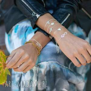 lavoga celebrate - triangle - bracelet - srebrne bransoletki, trójkąt