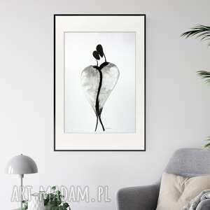 obraz ręcznie malowany 50x70 cm, abstrakcja kobieta, 2547126, obrazy