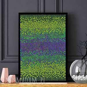 Plakat A2, plakat, abstrakcja, dom, sztuka, ilustracja, obraz