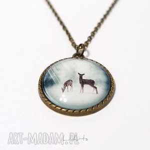 liliarts medalion, naszyjnik - sarenki antyczny brąz, naszyjnik, medalion