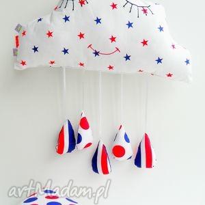 deszczowa chmurka - chmurka, przytulanka, dziecko, pokój, skandynawski, poduszka