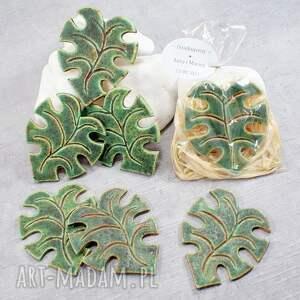 ślub upominki dla gości - zestaw magnesów ceramicznych, upominki
