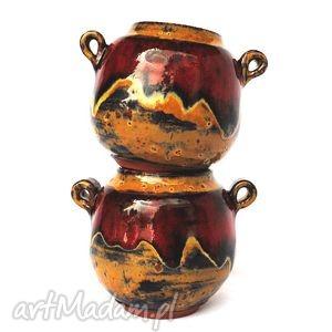 matero vii - ceramiczny zestaw do yerba mate, czarki, naczynia, cukierniczka