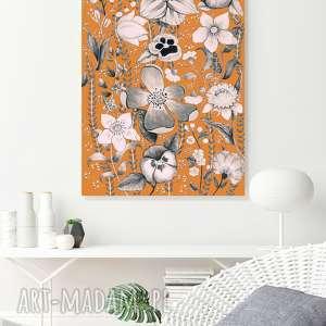 kwiaty a2, kwiaty, kwiat, plakat, sztuka, grafika, dom