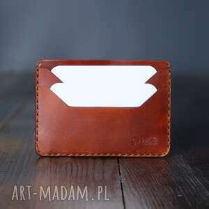 męski portfel skórzany minimalistyczny na karty