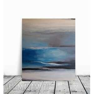 Abstrakcja-obraz akrylowy formatu 60 70 cm paulina lebida obraz