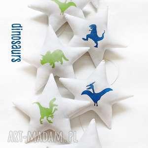DINOZAURS - girlanda, gwiazdka, dinozaur, gwiazdki, dinozaury