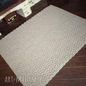 dywan prostokątny ze sznurka bawełnianego 110cmx150cm, sznurka