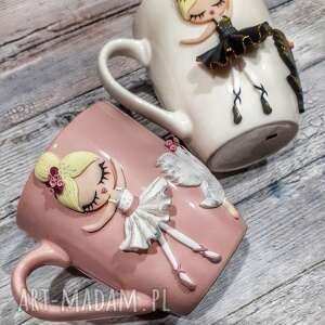 handmade pomysły na prezenty święta kubek balerina