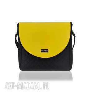 torebki torebka puro classic 2491 yellow leather, classic, kolekcja