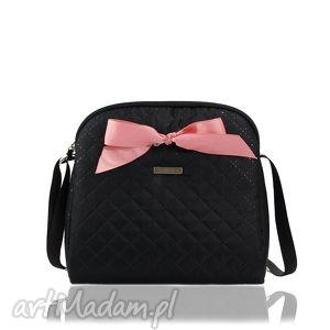 farbotka torebka colorful 170 czarna, mini, kokardka, simple, colorful, oryginalny