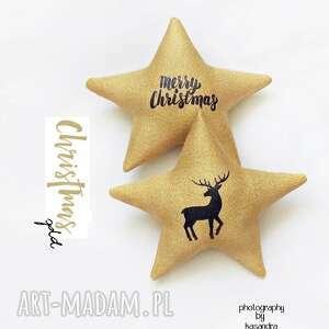 pomysł na upominki CHRISTMAS gold - gwiazdeczki choinkę, święta, choinka, gwiazdki