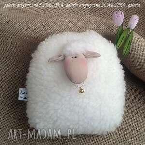 owieczka, baranek rozm m - dekoracja tekstylna, ooak, baranek, owieczka