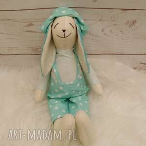 handmade maskotki króliczek tilda przytulanka