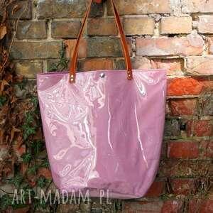 na ramię la lawenda, torba, torebka, xxl, mana mana, personalizacja