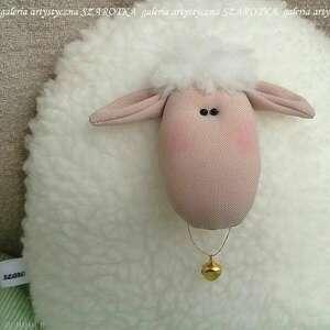 handmade dekoracje owieczka, baranek rozm. L - dekoracja tekstylna