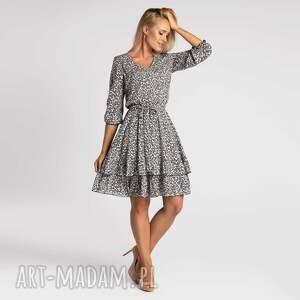 sukienka neva mini anatolia, mini, wiskoza, z wiskozy