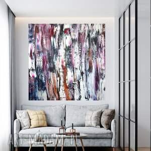 obraz abstrakcyjny 100x100