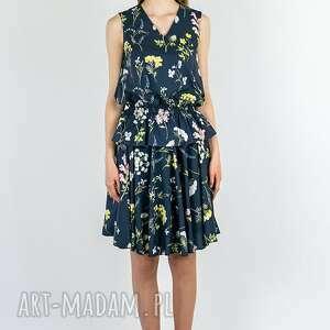 rustic city sukienka 2 w 1 - bluzka i spódnica, sukienka, bluzka, spódnica