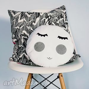 podusia dekoracyjna moon - poduszka, księżyc, moon, dekoracja, pokoik, dziecko