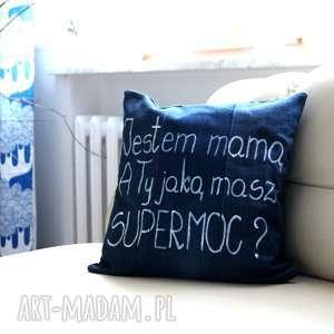 poszewka na poduszkę - prezent dzień matki, poszewka, poduszka, dzień-matki, mama