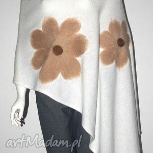 hand-made szaliki szal filcowany rękodzieło