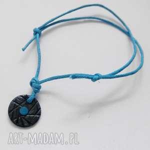 bransoletki okrąg bransoletka, srebro, swarovski, sznurek, wyjątkowy prezent