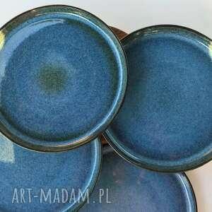 talerz ceramiczny talerze ceramiczne zestaw 4 szt, ceramika, talerz, zastawa