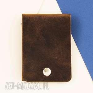 Portfel na karty , portfel, klasyczny, minimalistyczny, skórzany, slim, skóra