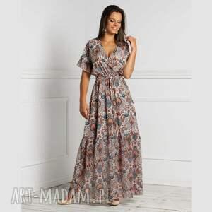 prezent na święta, sukienka ria maxi seleme, maxi, rozkloszowana, lato