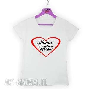Prezent Koszulka z nadrukiem dla mamy, prezent dzień matki, od dzieci, syna, córki
