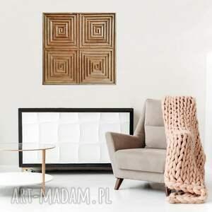 obraz z drewna, dekoracja ścienna /90- halima/, obraz, drewniany