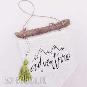 ozdobna eko zawieszka adventure - ,zawieszka,eko,drewno,skandynawska,patyk,adventure,