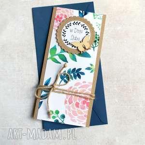 kartka ślubna :: watercolors slim, ślub