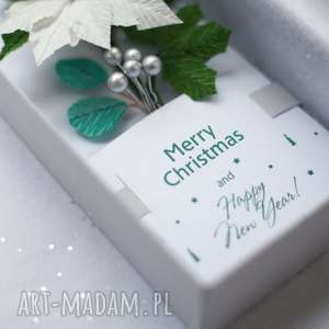 handmade kartki karteczki 3d na prezent. Merry christmas