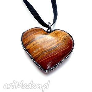 Agatowe serce dla kogoś miłego :) Śliczne, agat, ekskluzywny, serce, efektowny