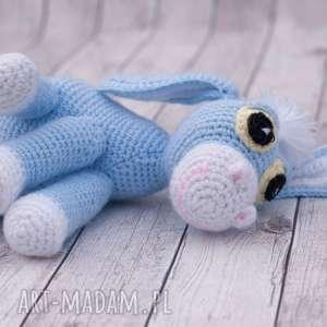 Prezent Osiołek Dyzio Marzyciel mini przytulanka maskotka, amigurumi, zabawka