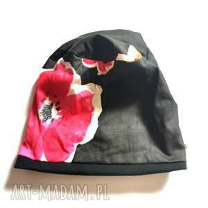 hand made czapki czapka damska rozmiar uniwersalny na podszewce polecam box