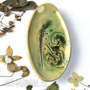 ceramika mydelniczka wiosennie, ceramiczna mydelniczka, rękodzieło, prezent