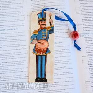 zakładki zakładka do książki - ołowiany żołnierzyk, zakładka, gwiazdka, książka
