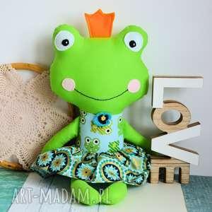 królewna zaczarowana w żabkę - 45 cm - żabka roczek, urodziny chrzest