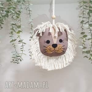 dekoracja lew, ścienna lew, dekoracja, zawieszka wiszący